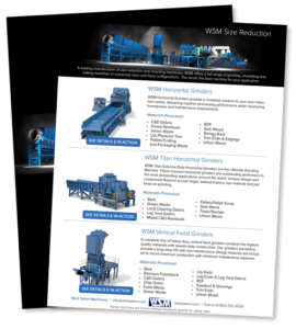 WSM Size Reduction downloadable PDF flyer