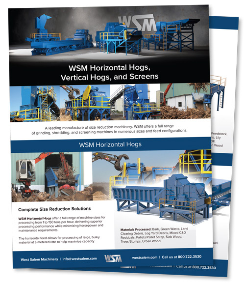 WSM Horizontal Hogs, Vertical Hogs, and Screens downloadable PDF flyer