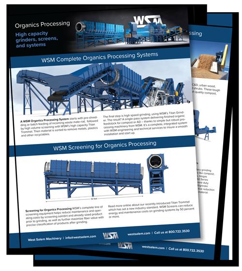 Organic Processing downloadable PDF flyer
