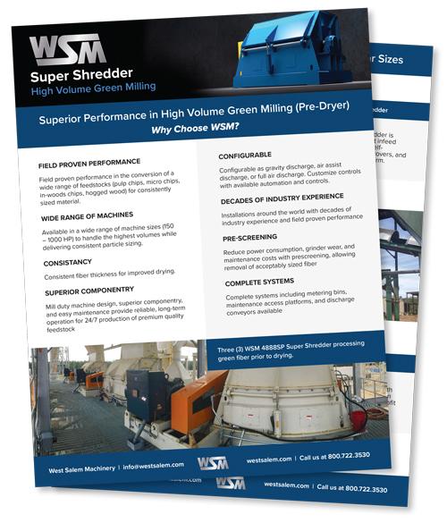WSM Super Shredder downloadable flyer PDF