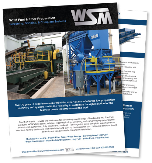 WSM Fuel & Fiber Preparation downloadable PDF flyer