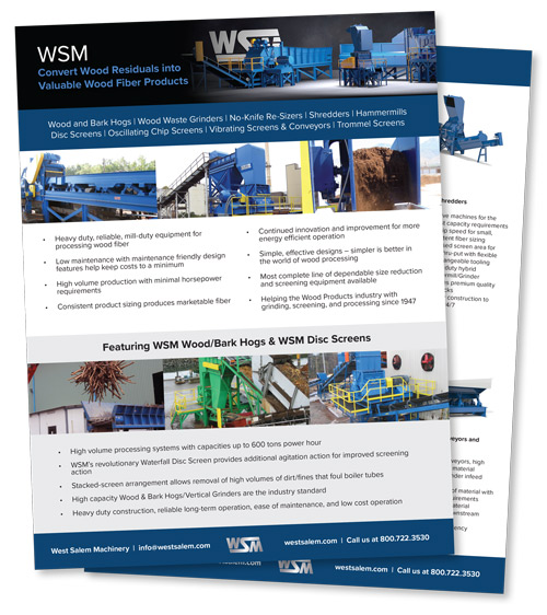 WSM Wood Product flyer downloadable PDF