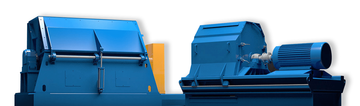 West Salem Machinery shredder render