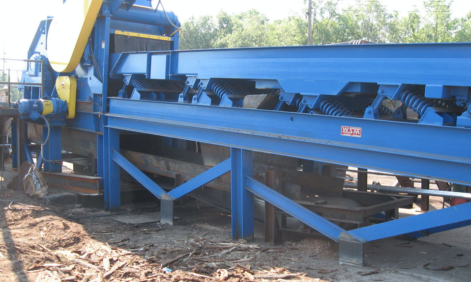 West Salem Machinery products processing urban wood