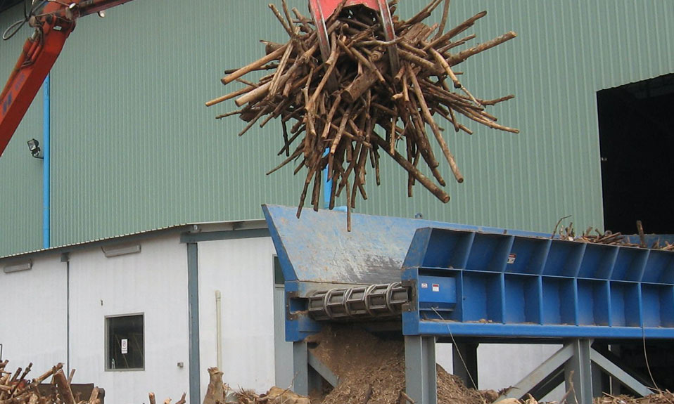 WSM products processing urban wood